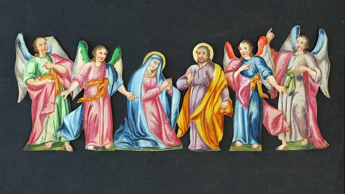 Das Wunder der Weihnacht in Papier