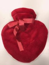 TAUBERT Wärmflasche in Herzform rot