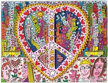 James Rizzi, 3-D-Serigrafie, The best peace of my heart