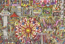 James Rizzi, 3-D Serigrafie, Fly me to the moon