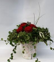 Blumenstrauß 'Valentin' in rot
