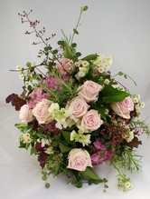 Blumenstrauß 'Valentin' in rosa