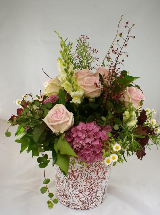 """Blumenstrauß """"Valentin"""" in rosa"""