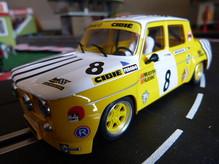 BRM080 Renault R8 Gordini No. 8