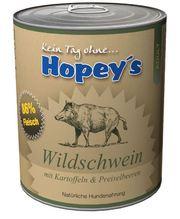 3 plus 1 Hopey's Wildschein 850g Nassfutter