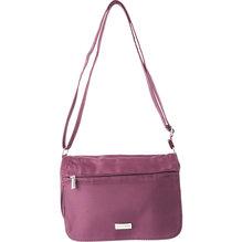 GULLIOMODA® Damen Handtasche mit Überschlag 21008 - Bordeaux