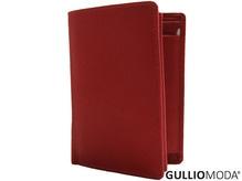 GULLIOMODA® Geldbörse im Hochformat (ZN 1001) Rot