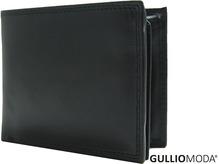 GULLIOMODA® Geldbörse im Querformat (C 490) Schwarz