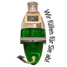 Laux 'Waldmeister Likör' 18% vol - mit Farbstoff, in verschiedenen Flaschenformen und Mengen!
