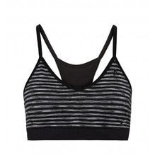 ODLO Sports Bra Seamless Soft black-grey melange 130431