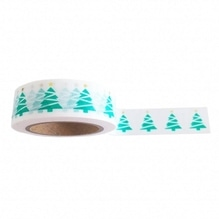 Washi tape 'x-mas tree' - studio stationary