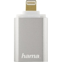 Hama Kartenleser Save2Data mini 00124155 Lightning microSD