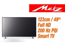 Metz  Pureo 49 049TW0540 LED TV EEK: A+ MADE IN GERMANY