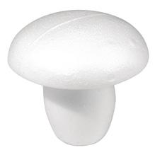 Styropor-Pilz, 13 cm