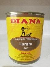 Diana Lamm pur 800g Nassfutter