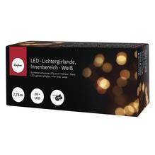 LED-Lichtergirlande, Innenbereich, 7,75m, 20 Lichter, weiß