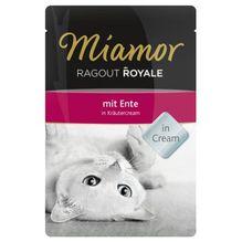Miamor Ragout Royal Ente in Kräutercream
