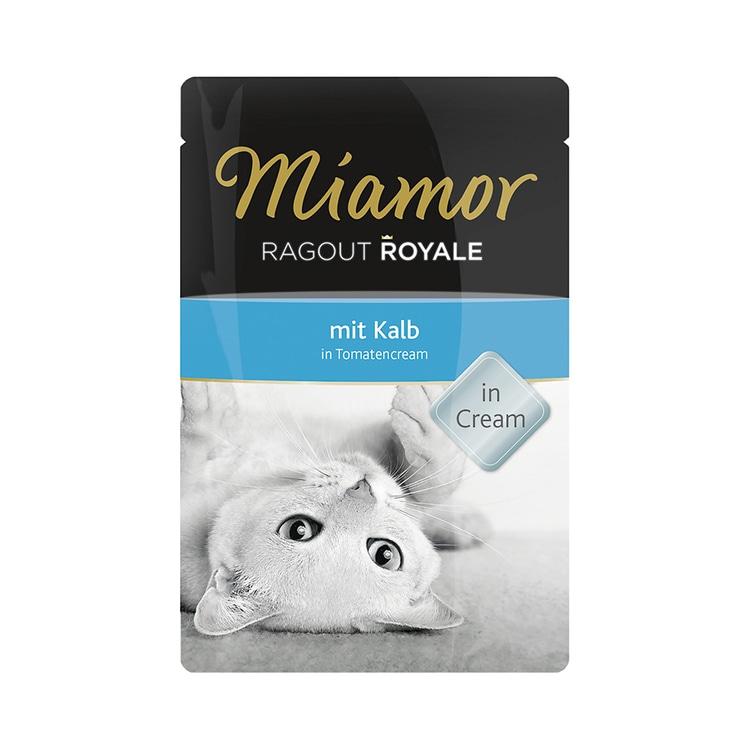 Miamor Ragout Royal Kalb in Tomatencream