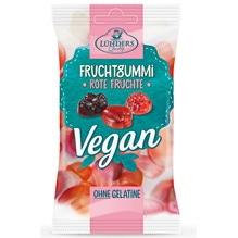 Lühders Fruchtgummi VEGAN 'Rote Früchte', 80g