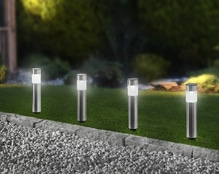 LED-Solarleuchte 'Miro' - 4er Set