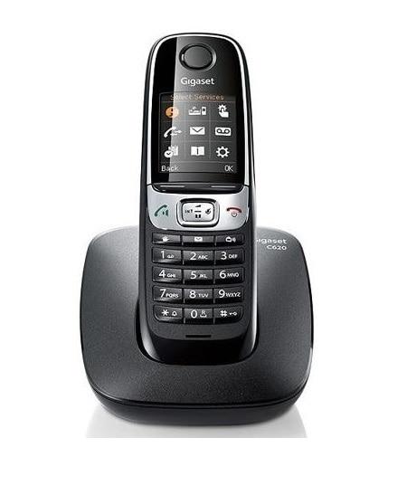 Gigaset C 620 SCHWARZ SCHNURLOSES TELEFON