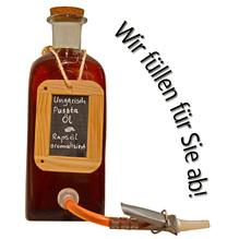 Laux 'Ungarisches Puszta Öl', in verschiedenen Flaschenformen und Mengen!