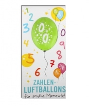 Zahlenluftballon Nr. 0