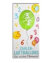 Zahlenluftballon Nr. 3