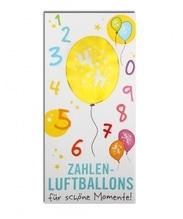 Zahlenluftballon Nr. 4