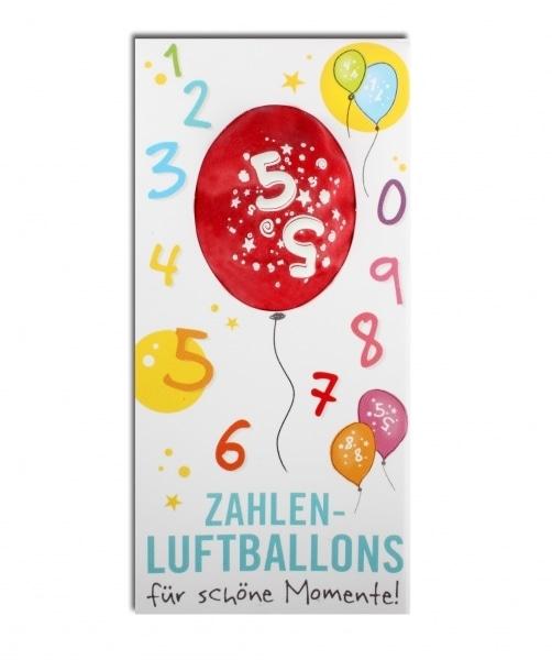 Zahlenluftballon Nr. 5