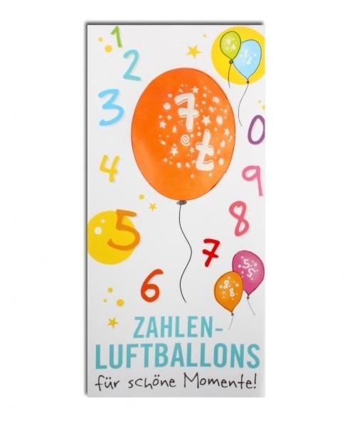 Zahlenluftballon Nr. 7