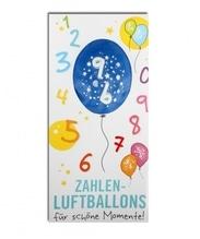Zahlenluftballon Nr. 9