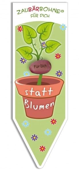 ZauBÄRbohne 'Für Dich - Statt Blumen'