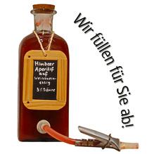 Laux 'Himbeer Aperitif' auf Weißweinessig 3% Säure, in verschiedenen Flaschenformen und Mengen!