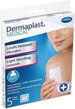 Dermaplast Medical Pflaster für leicht blutende Wunden 5x7,2cm 5Stück