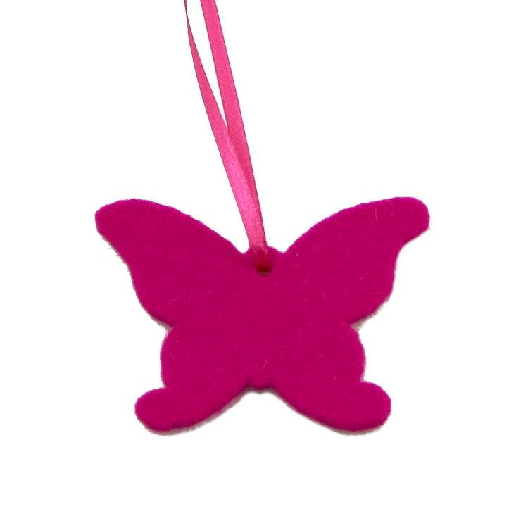 Schmetterling aus Filz