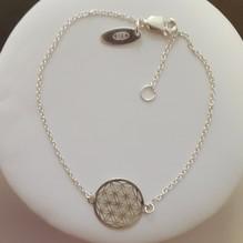 Blume des Lebens Set - Halskette und Armband