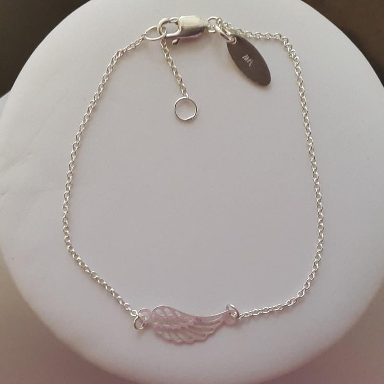 Engelflügel Schmuck Set Armband und Halskette