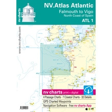 ATL 1 - NV Atlas Atlantic - Falmouth to Vigo / North Coast of Spain