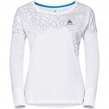 Odlo Damen T-Shirt HELLE Longsleeve 350051 Farbe weiß