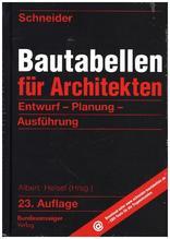 Schneider - Bautabellen für Architekten | Schneider, Klaus-Jürgen; Rjasanowa, Kerstin