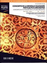 Concerto in la bem maggiore per flauto e orchestra, Flöte und Klavier   Briccialdi, Giulio