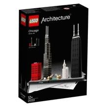 LEGO® Architecture 21033 Chicago, 444 Teile