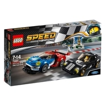 LEGO® Speed Champions 75881 Speed 2016 Ford GT & 1966 Ford GT40, 366 Teile