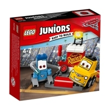 LEGO® Juniors 10732 CARS Guido und Luigis Pit Stopp, 75 Teile