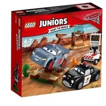 LEGO® Juniors 10742 CARS Rasante Trainingsrunden in der Teufelsschanze, 95 Teile