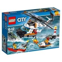 LEGO® City 60166 Seenot-Rettungshubschrauber, 415 Teile