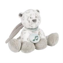 Mini-Spieluhr Schneeleopard