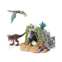 Schleich Dinosaurs 42261 Dinosaurierset mit Höhle