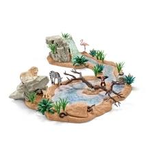 Schleich Wild Life 42321 Große Abenteuer-Wasserstelle
